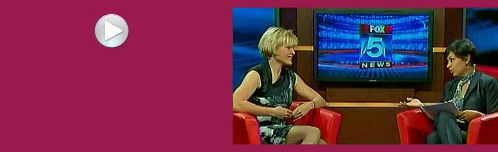 Caroline Adams Miller on Fox 5 News