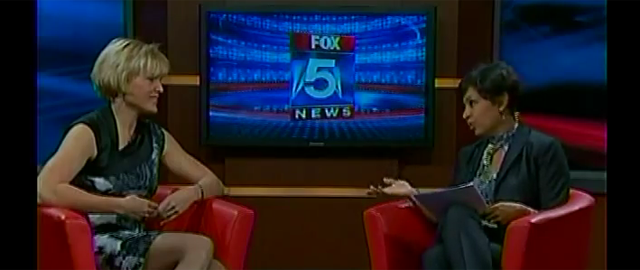 Caroline on Fox 5 News
