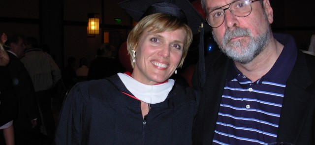 Chris Peterson with me at the MAPP graduation at Penn, May 2006