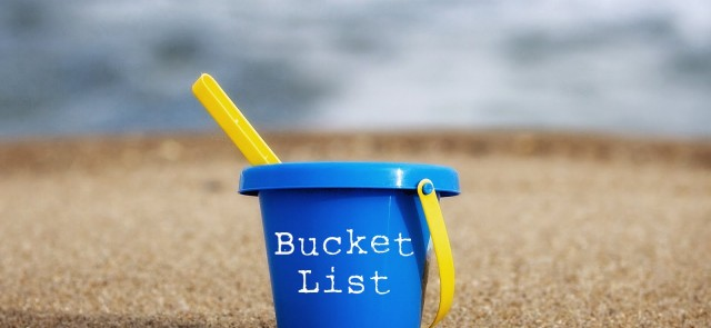If you aren't pursuing bucket list goals yet, make 2013 the year you check one off your list - possibly in the travel realm.  Research finds that pursuing valued goals, like creating memorable experiences, creates happiness and purpose.