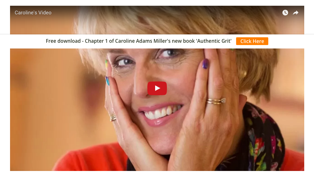 Caroline Adams Miller is one of the first Associates at Positive Psychology Learning. Here she shares her passion for goal-setting, grit and much more in a ten-minute exclusive video.