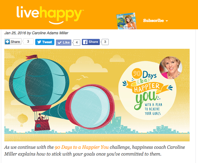 3 Steps to Keep the Goals You ve Set Live Happy Magazine