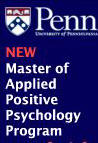 Master of Applied Positive Psychology