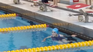 Anne Dunivin, a 98-year-old competitor at the Masters Long Course Swim Championships at the University of Maryland, took up swimming at 91 and won  her three events in front a raucous, cheering audience in August.