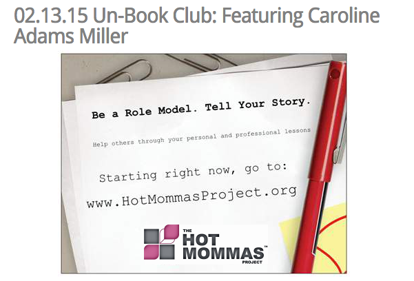 February Un Book Club  Featuring Caroline Adams Miller – the Highest Value Book Club You'll Ever Experience   The Hot Mommas Project