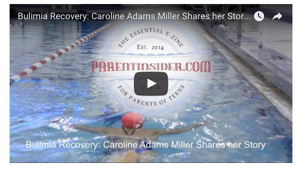 Recovering from Bulimia Caroline Miller s Story Parent Insider
